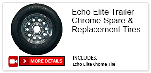 Chrome Spare Tires