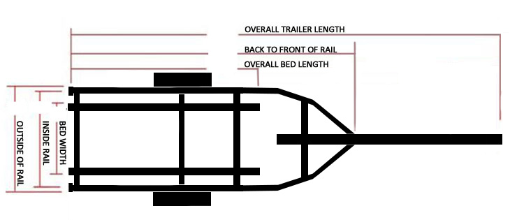 Echo Fishing Boat Trailer Schematic