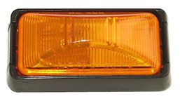 Rectangle Light Amber