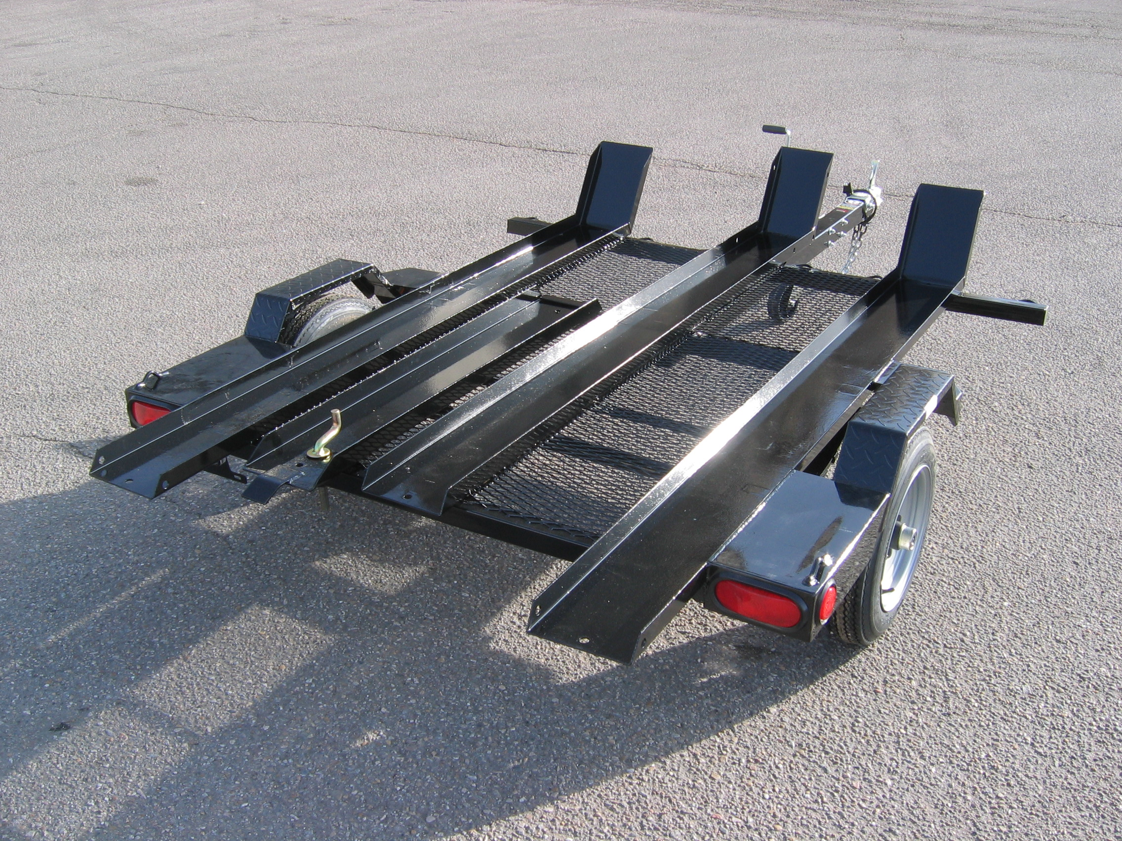 echo emc trailers motorcycle trailer steel greasable spindles number tires construction idaho meridian alert