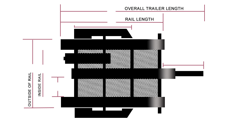 7' Echo Motorcycle Trailer Schematic