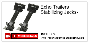 Echo Trailers Stabilizing Jacks