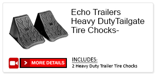echo trailers heavy duty chocks