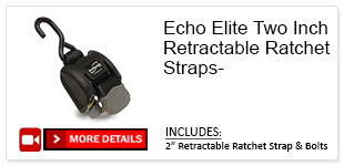 Echo Two Inch Trailers Ratchet Straps