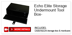 Echo Elite Storage Undermount Box